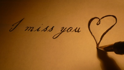 Dreaming of you - I miss you